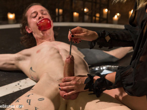 Mona Wales & Owen Gray In Forbidden Fruit: A Femdom Sounding Ritual - DivineBitches
