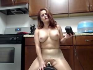 Amatörler,Orgazm,Kızıl saçlı,Squirt,Sikiş makinesi,Webcam