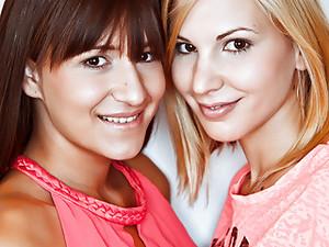 Hungarian Girlfriends Having Fun - Candy Sweet, Cindy Loarn