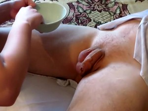 Girl Shave The Male In The Groin