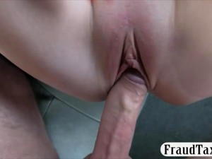 Nasty Amateur Busty Passenger Gets Her Ass Rammed In The Cab