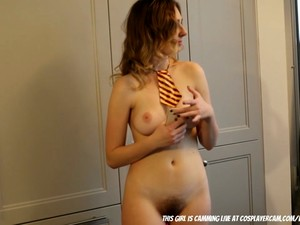 Beautiful Little French Girl Playing In The Kitchen... Segment