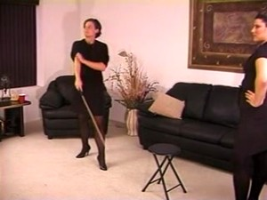 Caned By 2 Strict Ladies