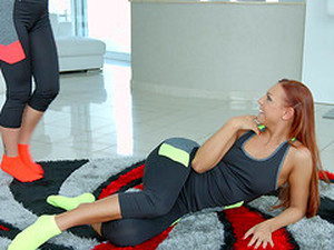 Marvelous Lesbian Action With Ornella Morgan And Her Sweetie