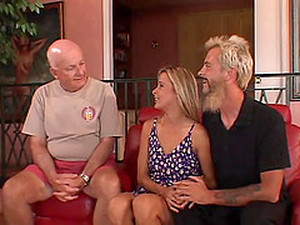 Blonde Beauty Has A Permission To Fuck A Guy Who Is Not Her Hubbie