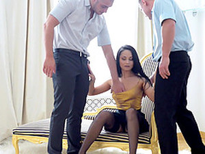 Playing With Two Dicks At Once Is What Kristall Rush Wants The Most