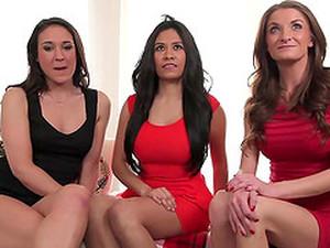 Naked Kiera Filming Two Hotties Having Steamy Lesbian Sex