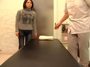 Petite Japanese Gets Ruined By Cock In Voyeur Massage Video