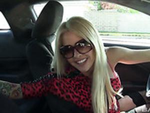 Большие сиськи,Блондинки,В машине,Кончить на лицо,Милф,Соски