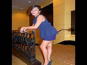 Cute Filipina Girl With Enormous Juggs Teases And Masturbates