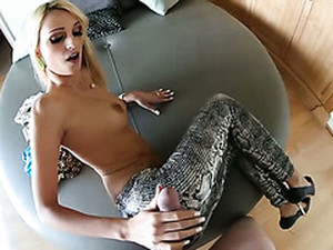 Bootylicious Blond Slut Got Pounded In Missionary Pose Hard