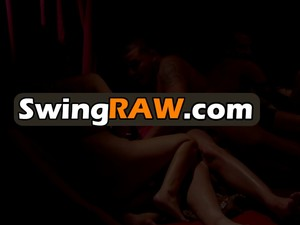 Swinger Couple Engages In Pre Party Action Before The Party Starts