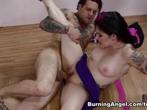 Amazing Pornstars Joanna Angel, Small Hands In Crazy Anal, Cumshots Xxx Video