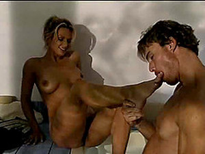 Foot Fetish Fake Tits Missy Monroe Enjoying Her Pussy Getting Licked