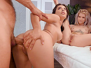 Jynx Maze And Her Hot Friend Need Only One Cock To Get Satisfied