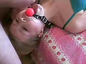 Gagged And Ass Fucked