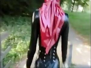 Latex Muslim Girl