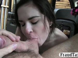 Amateur Babe Pounded For A Free Cab Fare