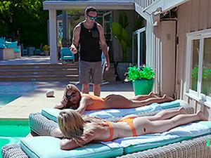 Üçlü,Bikini,Sarışınlar,FFM