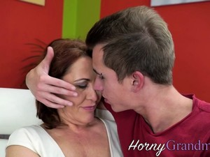 Pussy Licked Old Granny