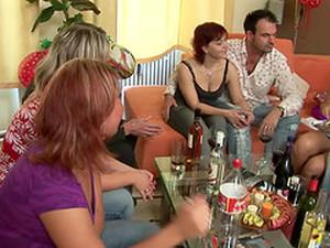 Amateur,Betrunken,Spiel,Gruppensex