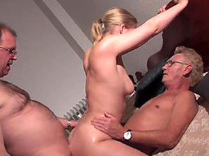 Hot Threesome With Colleagues In The Office