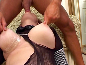 Olga Pumping Her Tits And Having Sex With Her Horny Fellow