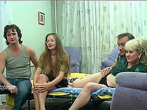 Вчетвером,Русское порно,Свингеры