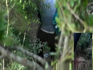 Blonde Woman Caught By Two Spy Cams Peeing