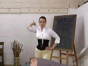 English Governess Canes In Jodphurs