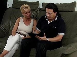 German Cougar Sex
