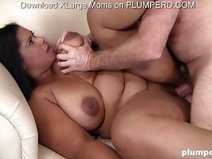 Fat Latina Babe Deepthraots Dick And Fucks Old Guy