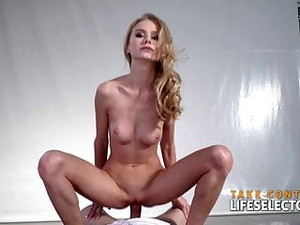 Lesbian Beauty Contestant Nancy Is Willing To Get Fucked By