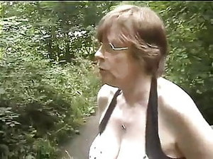 Granny Gets Fondled In The Shower