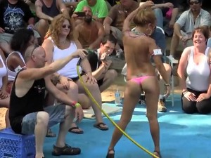 Unforgettable Contest With Arousing Mature Women