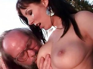 Horny Grandpas Vs Teen Brunettes