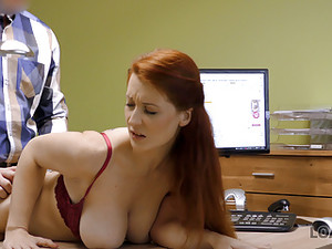 LOAN4K. Buxom Ginger Is Fucked Hard At Casting Performed By