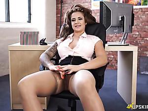 秘书,长袜,超短裙