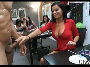Black Guy Got Surprised With A Blowjob By Horny And Wild Ladies