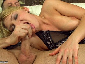 Naughty Blonde Babe Gets Double Penetrated In A Blazing Mmf Threesome
