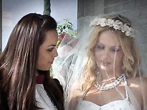 Sex After The Lesbian Wedding Is Hot Stuff