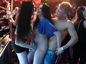 Seductive Dancing With Agreeable Women And Hunks