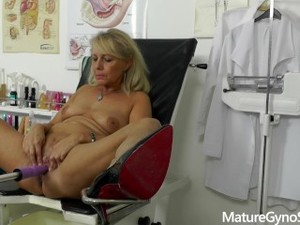 Sexy Granny Gyno Exam Secretly Recorded By Perverted Gynecologist