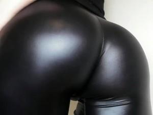 Leather Pants Ass Worship