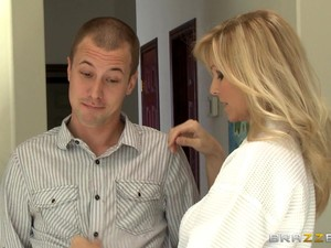 Beautiful, Blonde Cougar With Big Tits Enjoying A Hardcore, Missionary Style Fuck