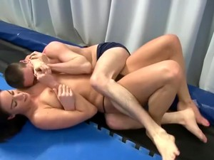 Mixed Wrestling Claire Vs Mickey
