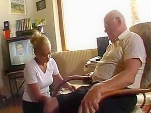 Grandpa Andre Sucked And Fucked