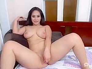 Indonesian-Chinese Girl NAKED BUSTY 8