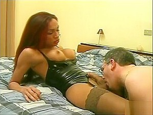 Fine Shetwink Has Some Enjoyfellowst With Older Man