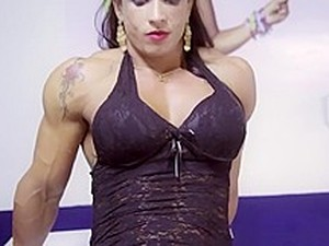Hot Muscle Woman